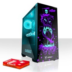 Absolut Fierce GOBBLER PC Gaming-Computer Gamer PC Stationær Ekstrem Intel Core i7 8700 4.6GHz 8GB GTX 1650 4GB