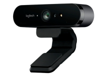 Logitech BRIO 4K Ultra HD webcam - Webkamera - farve - 4096 x 2160 - audio - USB