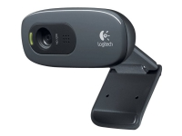 Logitech HD Webcam C270 - Webkamera - farve - 1280 x 720 - audio - USB 2.0